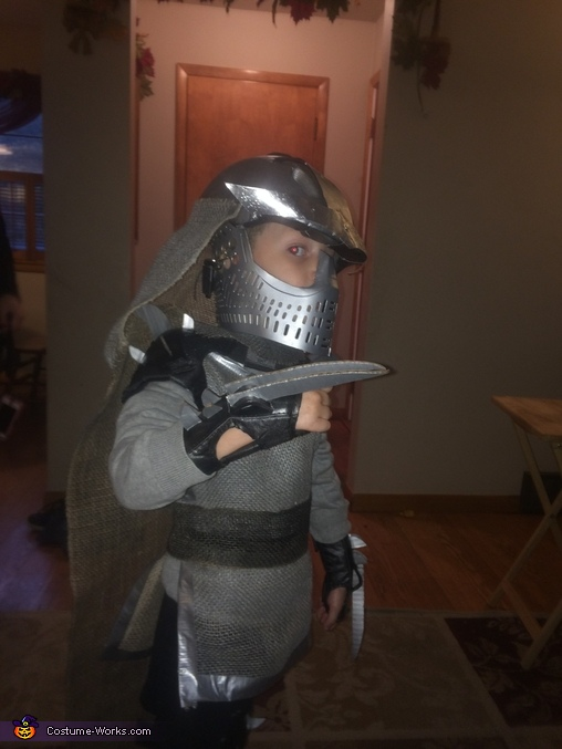 Close shave anybody?, TMNT Shredder Costume