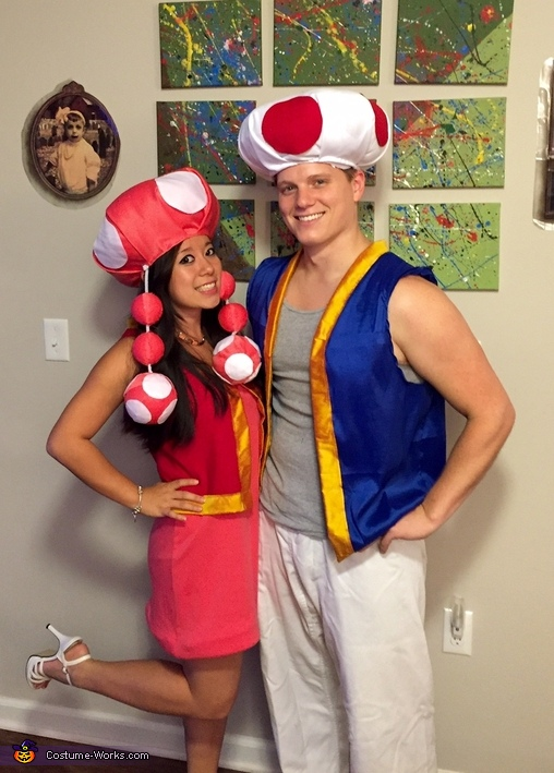 Toad and Toadette Costume