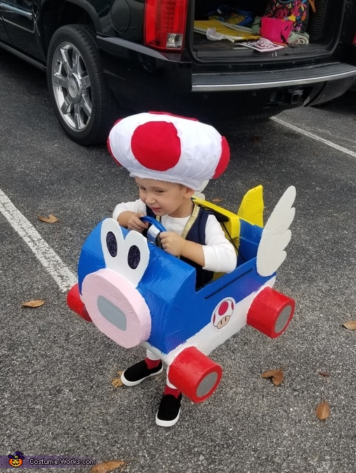 Toad from Mario Kart Costume