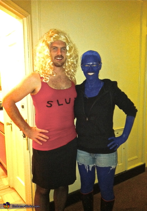 Tobias and Lindsay Funke - Homemade costumes for couples