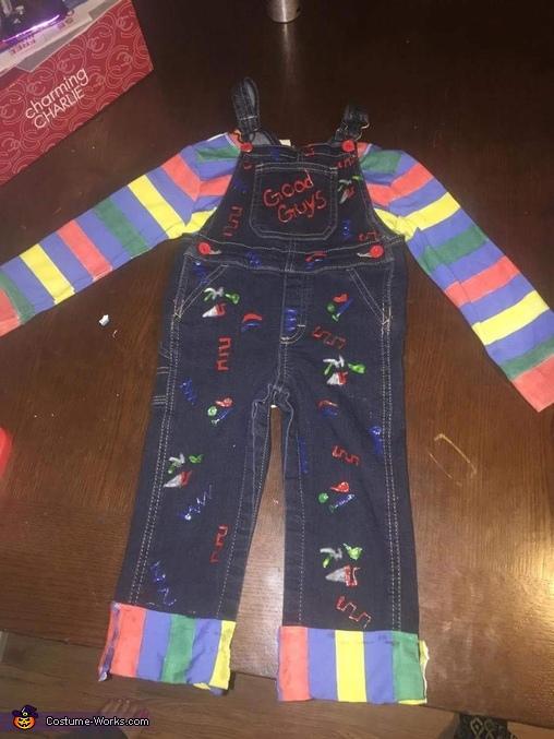 Toddler Chucky Homemade Costume