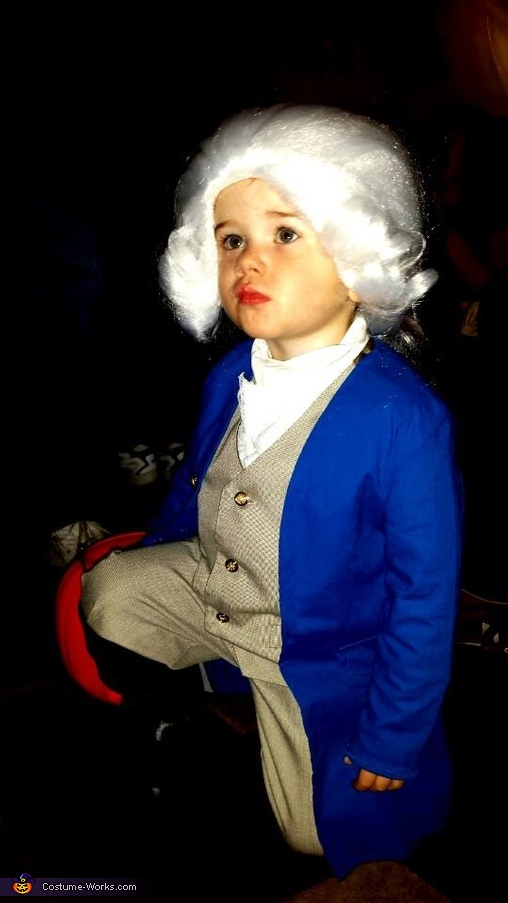 Toddler George Washington Costume