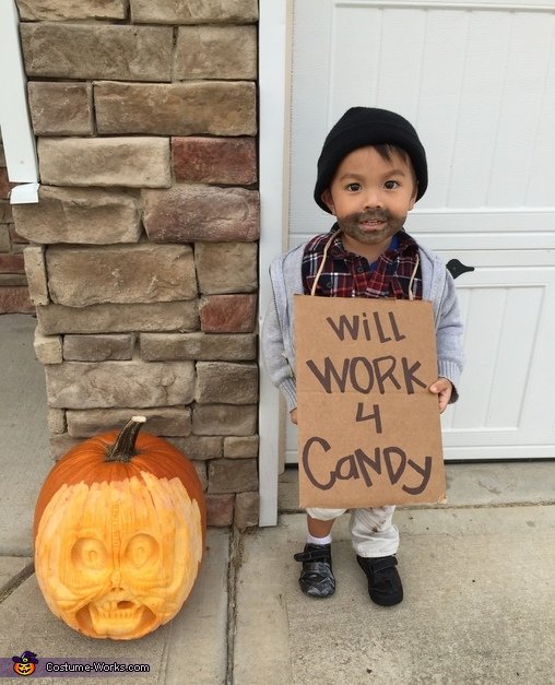 Toddler Hobo Costume