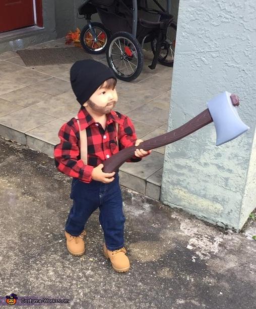 Toddler Lumberjack Costume