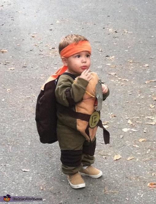 Toddler Ninja Turtle Costume