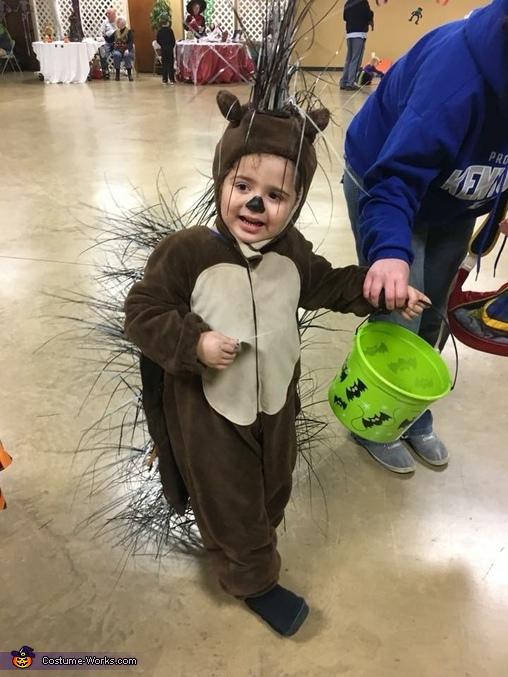 Toddler Porcupine Costume