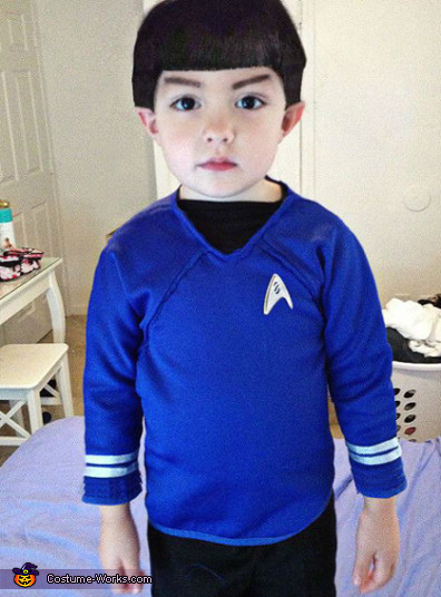 Toddler Spock Costume
