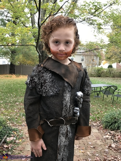 Toddler Tormund Giantsbane Homemade Costume