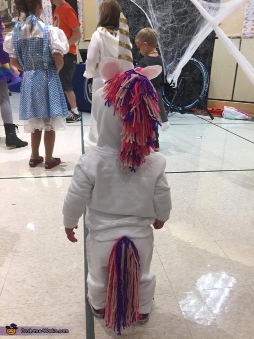 Backside, Toddler Unicorn Costume