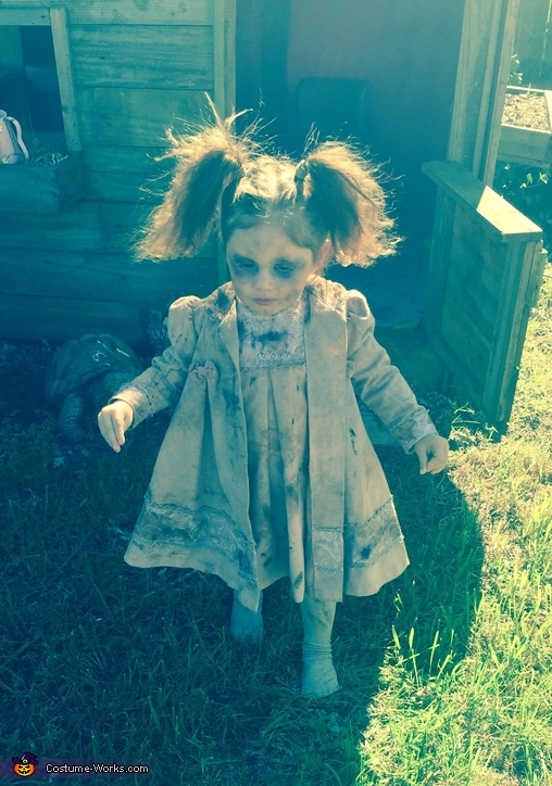 Toddler Zombie Costume