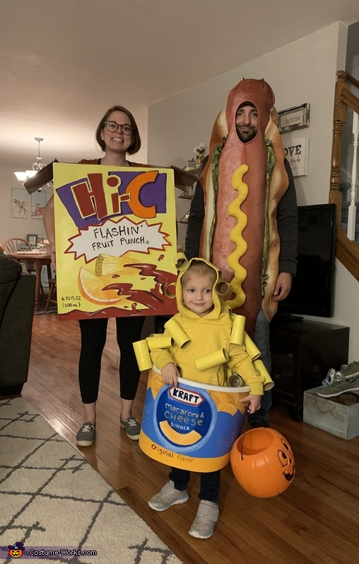 Toddler's Dinner Costume