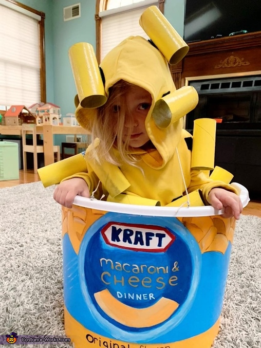 Toddler's Dinner Homemade Costume