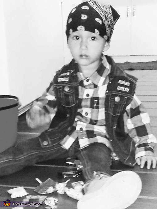Serious Face Only, Toddlers of Anarchy Costume