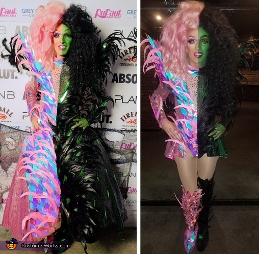 Todrick - Good witch Bad witch Homemade Costume