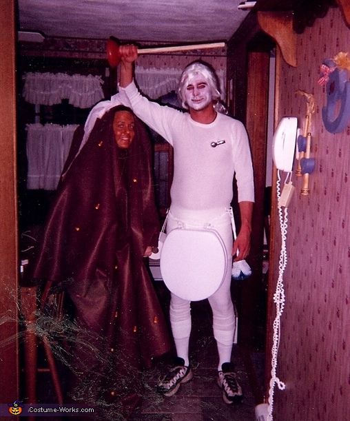 Toilet Pan Costume