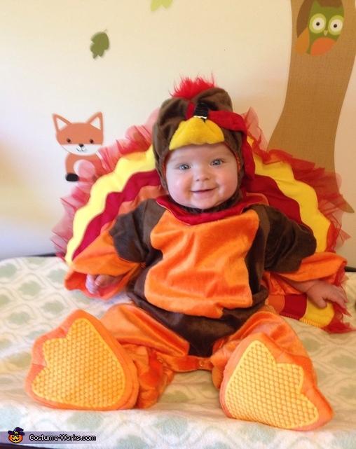 Tom Turkey Baby Costume