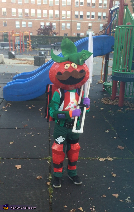 TomatoHead FortNite Costume