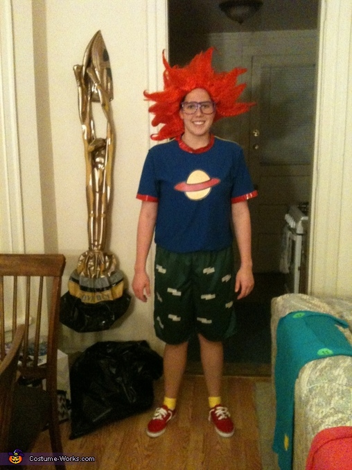 Chuckie Finster Costume, Rugrats Tommy Pickles and Chuckie Finster Costume