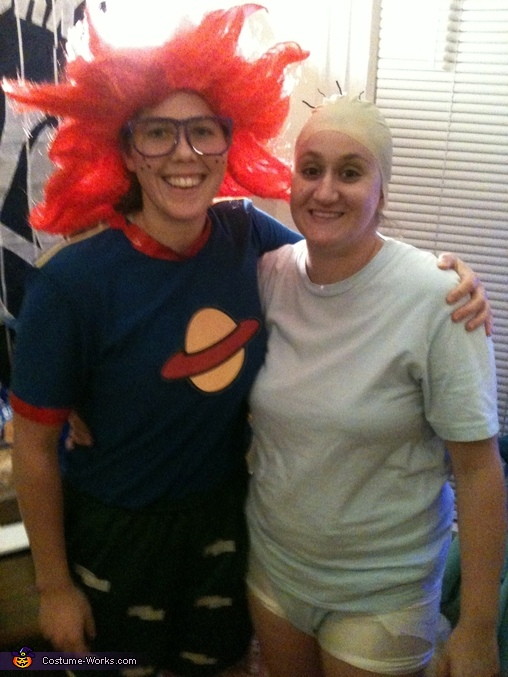 Rugrats Tommy Pickles and Chuckie Finster Costume