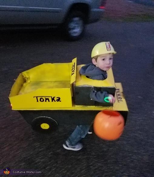 Tonka Truck Costume
