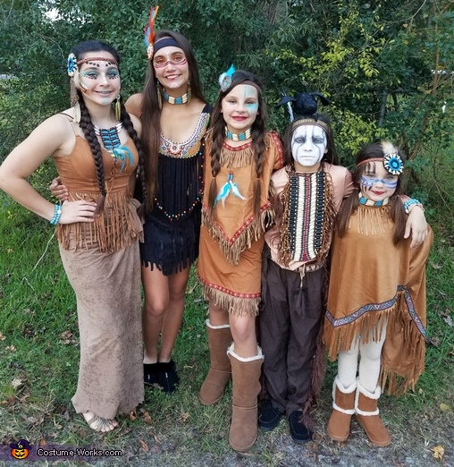 Our tribe, Tonto Costume