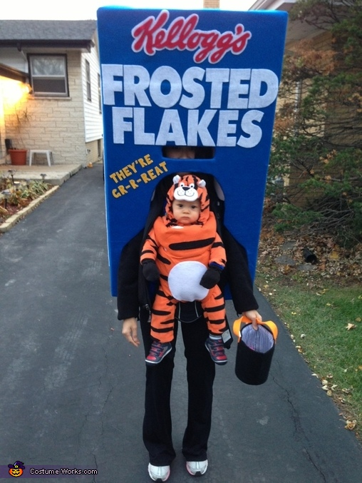 Tony the Tiger - Homemade costumes for babies