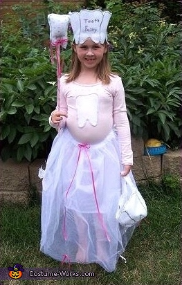 Tooth Fairy Homemade Halloween Costume