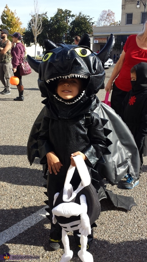 Toothless Costume