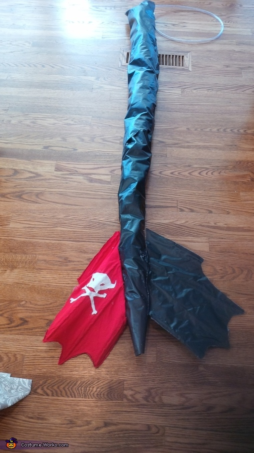 Tail, Toothless Costume