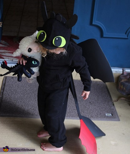 Toothless Dragon Baby Costume