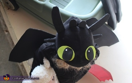 Toothless Dragon Homemade Costume