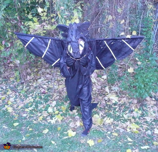 Toothless Night of Fury Costume