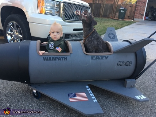 Top Gun Homemade Costume