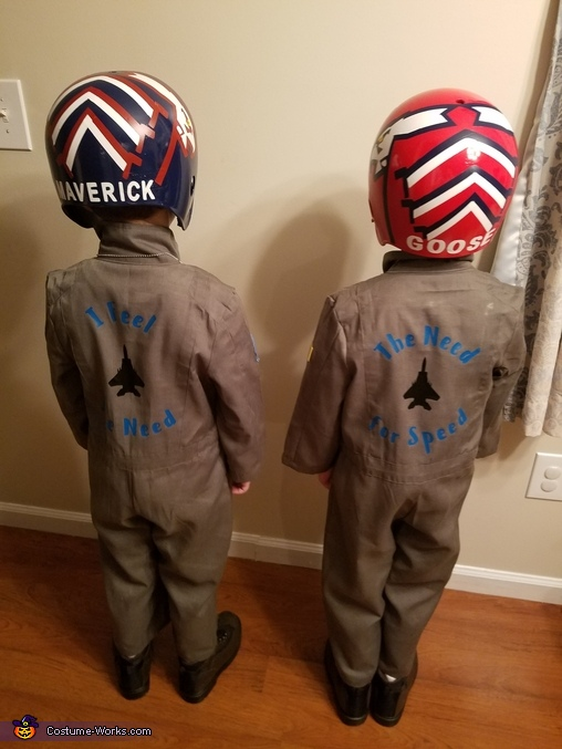 Back Decals, Top Gun Costume