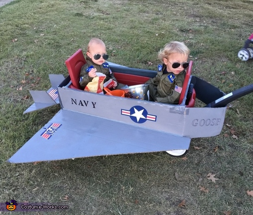 Top Gun - Goose and Maverick Costume