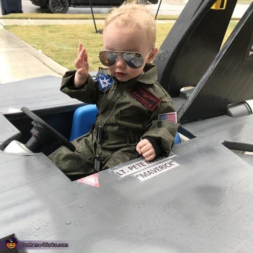 Top Gun - Maverick Homemade Costume