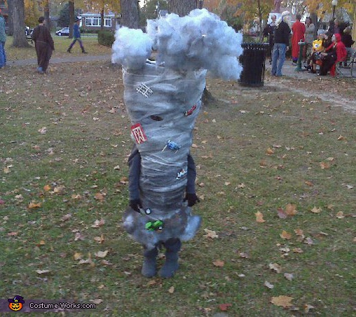 Tornado - Homemade costumes for kids