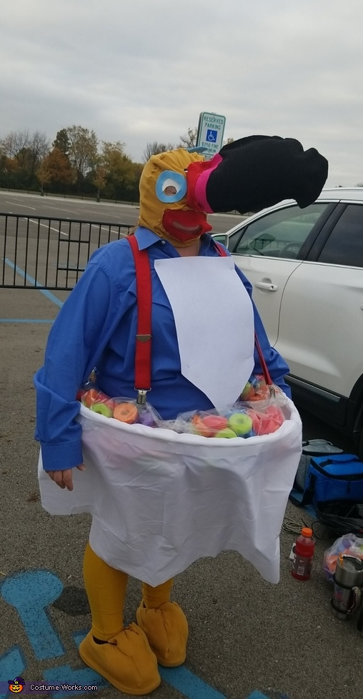Toucan Sam and a Bowl of Fruit Loops Costume