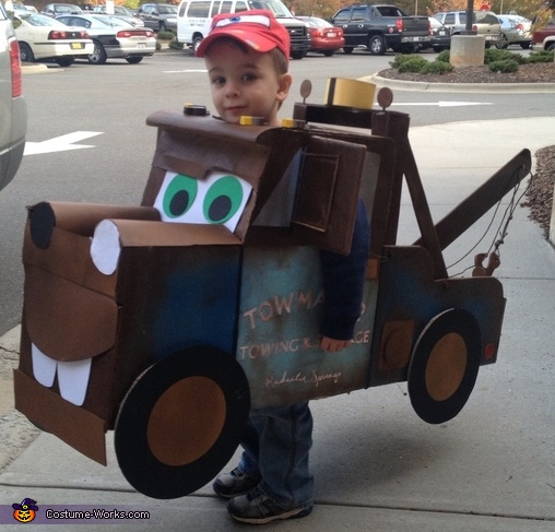 Tow Mater - Homemade costumes for boys