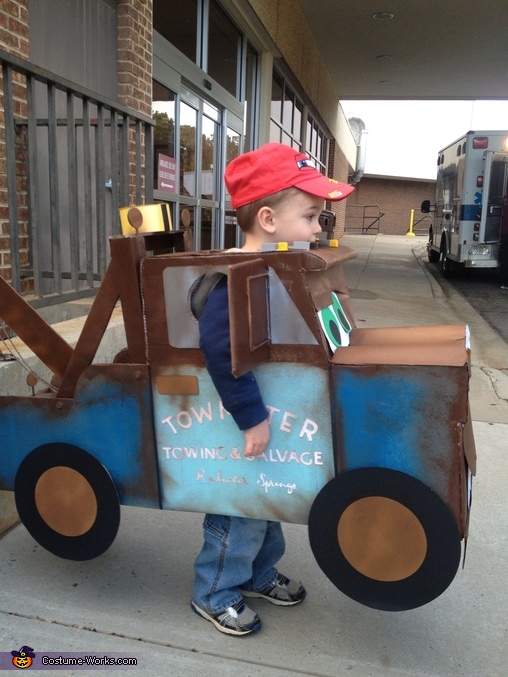 DIY Tow Mater Costume