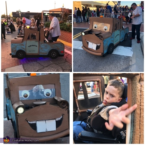 Harlan and Mater, Tow Mater Costume