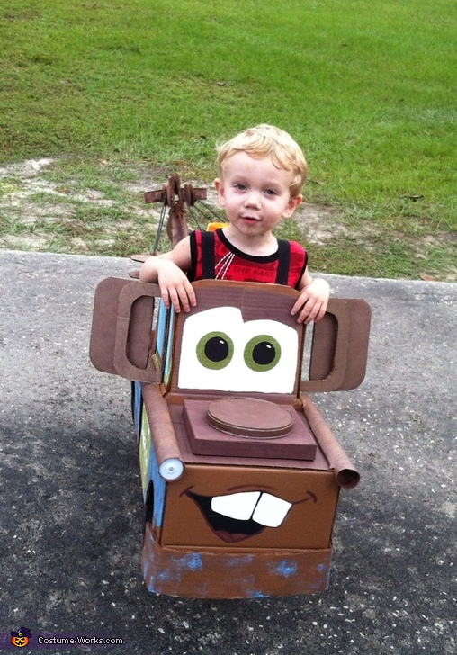 Tow Mater the Tow Truck Costume