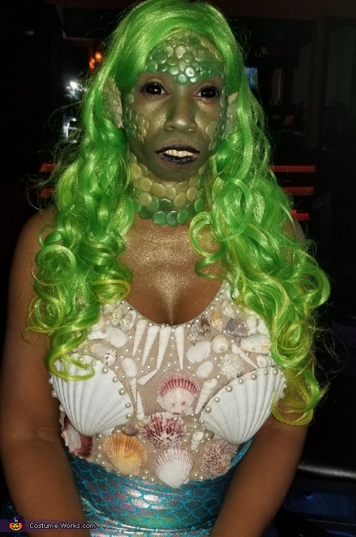 Toxic Mermaid Costume