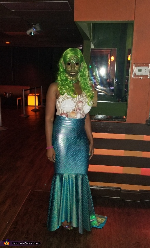 Toxic Mermaid Homemade Costume