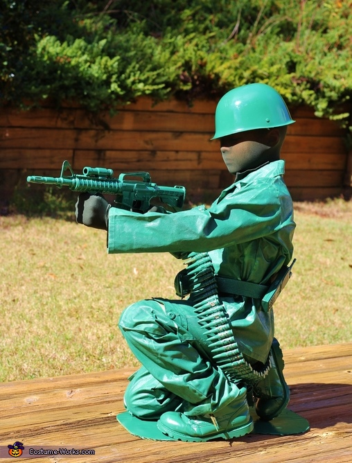 Toy Army Man Homemade Costume