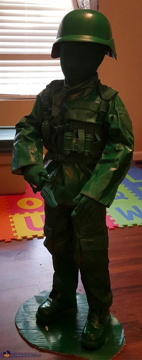 Toy Army Man Costume DIY