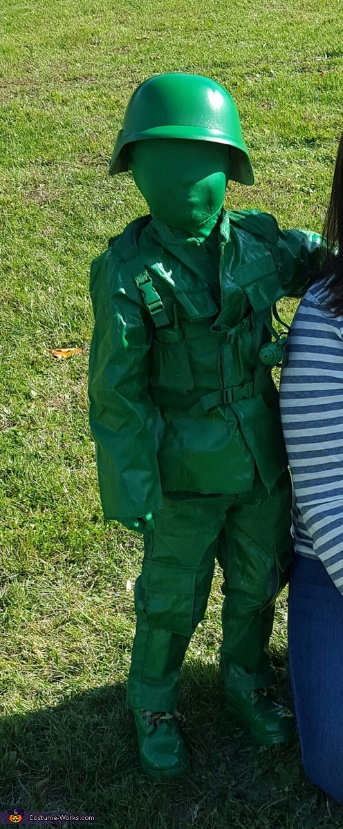 Toy Army Man Costume DIY