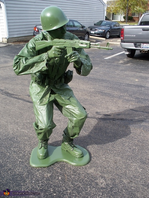 Toy Soldier Position #2, DIY Toy Soldier Costume