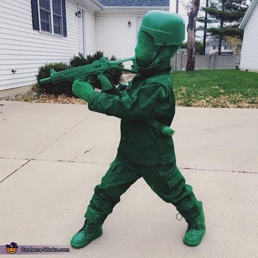 Toy Soldier Child Costume