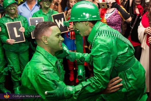 Proposal Video, Toy Soldiers Costume